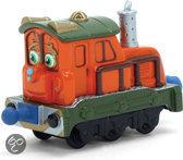 Chuggington Die-cast Trein Kelly en de Pakket Wagon