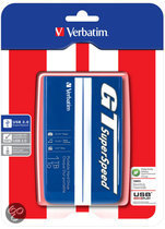 Verbatim GT SuperSpeed Portable 1TB USB 3.0 blue/white   (53083)