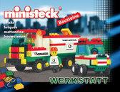 Ministeck Bouwstenen - Tankwagen + Auto