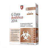G Data AntiVirus 2014  -  Nederlands / 1 Pc / 1 Jaar