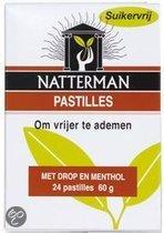 Natterman Drop/Menthol - 24 st - Hoestpastilles