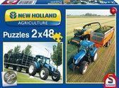 Schmidt New Holland Landbouw - Puzzel