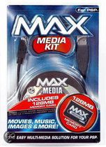 Datel Max Media Kit 128 MB Zwart PSP