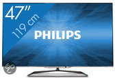 Philips 47PFL7008 - 3D led-tv - 47 inch - Full HD - Smart tv