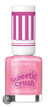 Rimmel London Sweetie Crush Special Effect Nail Colour  - 009 Candyfloss Cutie - Roze - Nagellak