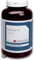 Bonusan Omega-3  - 200 Capsules - Voedingssupplementen