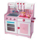 Imaginarium Provence Kitchen - Houten keukentje - Roze