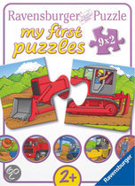 Ravensburger My First Puzzle - Op de Bouwplaats