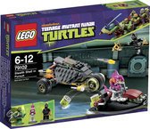 LEGO Turtles Stealth Shell Achtervolging - 79102