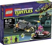 LEGO Turtles Stealth Shell Achtervolging - 79102