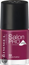 Rimmel Salon Pro With Lycra Nailpolish - 402 Urban Purple - Nailpolish