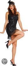 Luxe Flapper - Kostuum - Maat M - Zwart