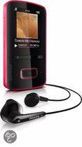 Philips GoGear Vibe MP4 speler - 4 GB - Roze