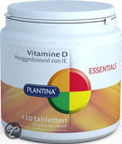 Plantina Vitamine D 600 IE - 120 Tabletten
