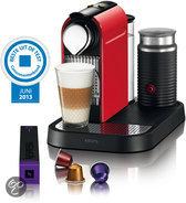 Krups Nespresso Apparaat CitiZ & Milk XN7305 - Fire-engine red