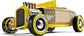 Automoblox: HR-2 Hotrod Roadster - Geel