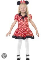 Kinderkostuum Minnie Mouse maat M