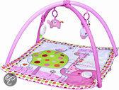 K-nuffel Roze Giraffe - Speelkleed