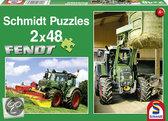 Schmidt 2-in-1 Puzzel - Fendt Tractors