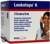 Leukotape K - Elastische Tape - 5 m x 7,5 cm - Blauw
