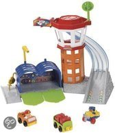 Fisher-Price Little People Wheelies Vliegveld Speelset