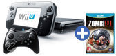 Foto van Nintendo Wii U 32GB Premium Bundel + Zombi-U + Premium Controler Zwart