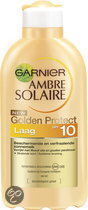 Garnier Ambre Solaire Golden Protect Beschermend en Verfraaiend SPF 10 - Zonnebrandlotion