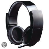 Sony PlayStation Draadloze Stereo Headset Zwart PS3