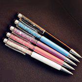Luxe styluspen met diamant, paars