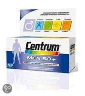 Centrum Men 50+ - 60 Tabletten - Multivitaminen