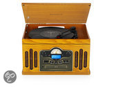 RMC240 6 in 1 Music Center Oak Wood