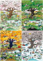 Heye Puzzel - Blachon: 4 Seasons