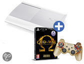 Sony Playstation 3 500GB Super Slim Wit + God of War Ascension - Special Edition. + God Of War Controller