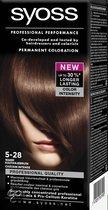 SYOSS Color baseline 5-28 Warm Kastanjebruin - Haarkleuring