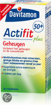 Davitamon Actifit 50+  Geheugen -  60 Tabletten - Multivitamine