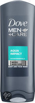 Dove Men+Care Shower Aqua Impact - 400 ml - Douchegel