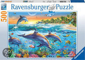 Ravensburger Puzzel - Dolfijnenbaai