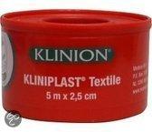 Kliniplast Textile - 2.5 cm- Pleisters