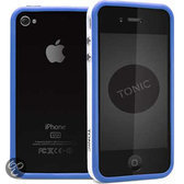Tonic Edge Bumper Case voor Apple iPhone 4 Blauw