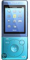 Sony NWZ E474 - Walkman Video MP3 speler 8 GB - Blauw