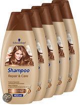 Schwarzkopf Repair & Care - 5 x 400 ml Voordeelverpakking - Shampoo