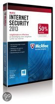 McAfee Internet Security 2013 - 3 Gebruikers / Nederlands / Half Price DVD Promo / WIN