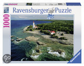 Ravensburger Vuurtoren Bruce Peninsula - Puzzel - 1000 stukjes