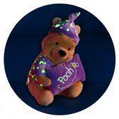 Nicotoy Winnie de Poeh glow in the dark (25cm) - Knuffel