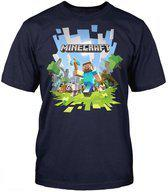 Minecraft - Adventure with Logo T-Shirt - S
