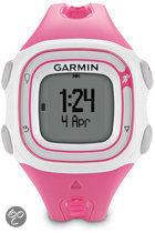 Garmin Forerunner 10 - GPS Sporthorloge voor dames - Wit/Roze