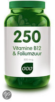Aov 250 Vitamine B12 & Foliumzuur
