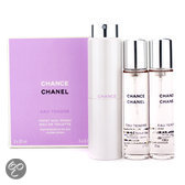 Chanel Chance Eau Tendre for Women - 3 delig - Geschenkset