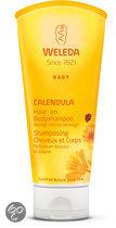 Weleda Calendula Baby Haar- en Bodyshampoo - Babyverzorging - 200 ml