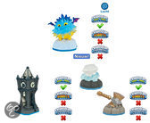 Skylanders Swap Force Adventure Pack Pop Thorn, Tower of Time, Battle Hammer, Sky Diamond Wii + PS3 + Xbox360 + 3DS + Wii U + PS4